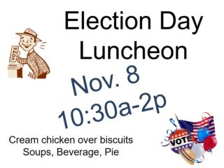 Election Day Luncheon