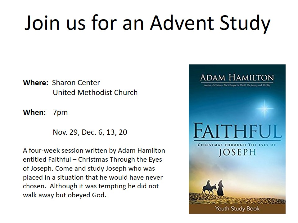 Join us for an Advent Study