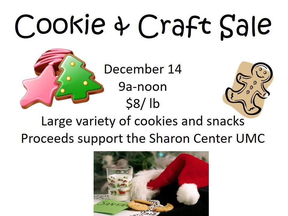 Cookie & Craft Sale