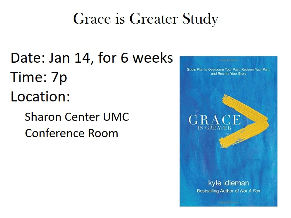 Grace is Greater Study