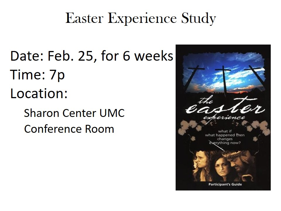 Easter Experience Study