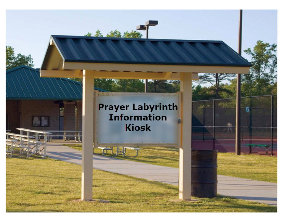 Prayer Labyrinth Information Kiosk