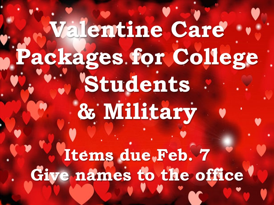 Valentine Care Package Collection