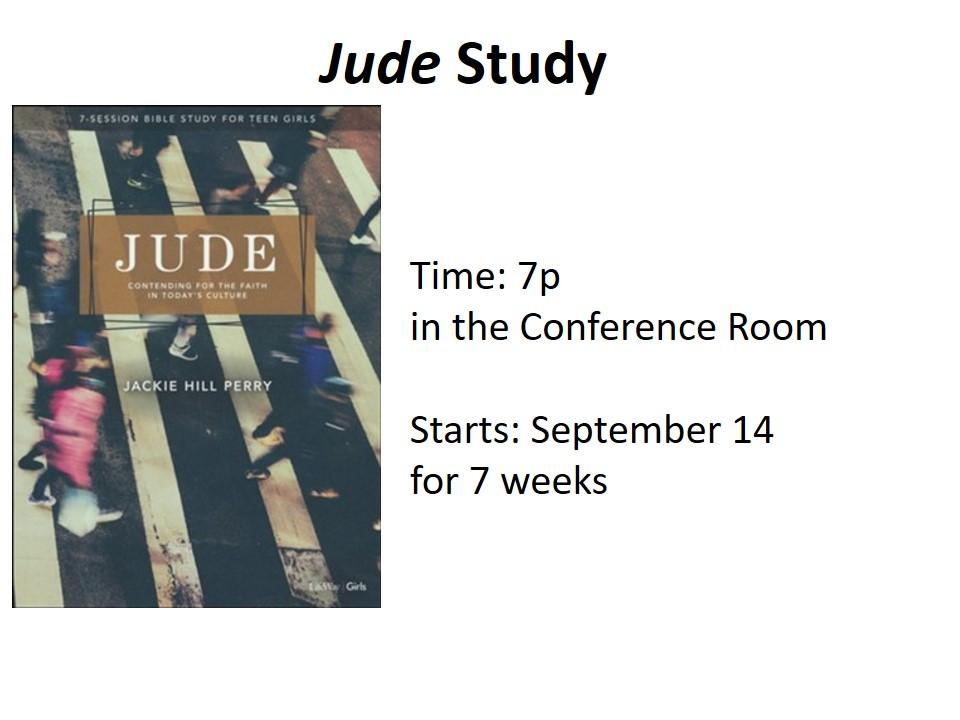 Jude Study